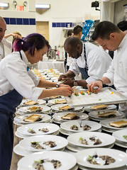 Bocuse d'Or Dinner (Edsel L) Tags: ohio milan unitedstates vegetable grace institute benefit dor jaimie simpson culinary bocuse teamusa a7r chefsgarden jamiesimpson bocusedor culinaryvegetableinstitute curtisduffy ilce7r jaimiesimpson ulfetozyabasligilralph