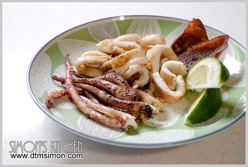 氣炸鍋烤魷魚11