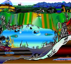 Le lac et  mon enfance