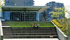 Olympic Sculture Park - Weiss Manfredi (geldmond) Tags: seattle park parque garden esculturas jardin sculture olympic weiss seaface manfredi