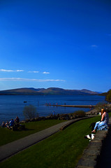 Day at the Loch (Luke Rostron) Tags: dog loch lomand
