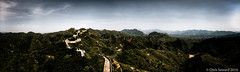 On and On (cseward) Tags: china travel sky panorama mountain mountains wall landscape asia great chinese beijing greatwall 长城 hdr endless greatwallofchina 2014 長城 萬里長城 金山岭 changcheng 万里长城 photomatix hdrpanorama 金山嶺 jīnshānlǐng