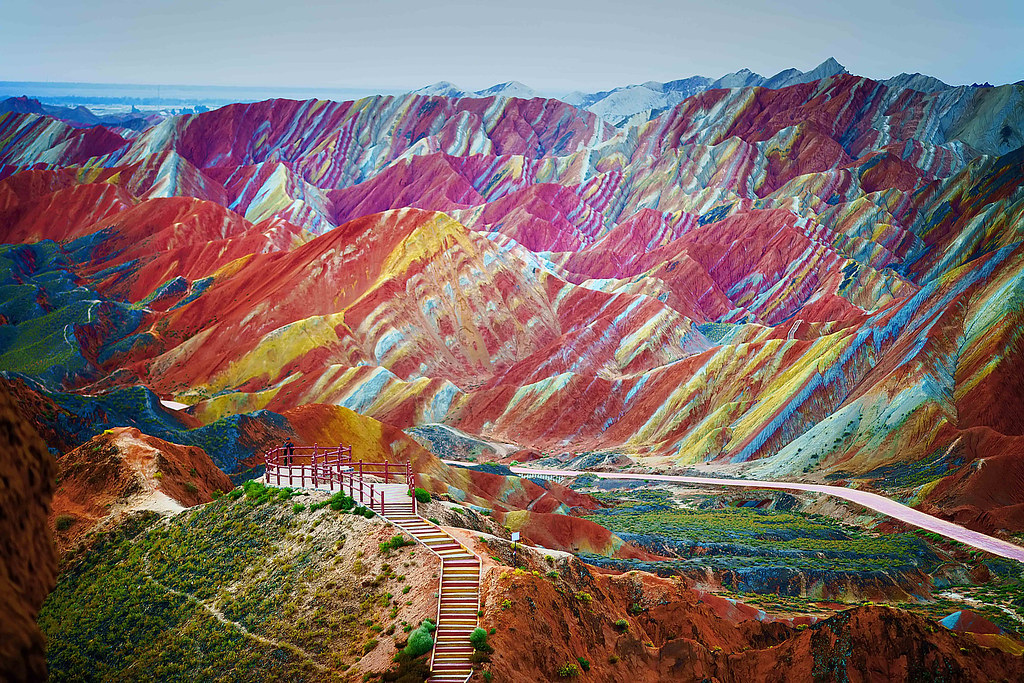 Colorful Rock Formations