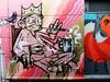 The Pyjama King (Viv Lynch) Tags: city uk england streetart southwest art festival bristol graffiti europe paint downtown unitedkingdom seenoevil british oldcity castlepark nelsonstreet 2011 sepr
