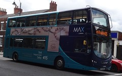 Selby (Andrew Stopford) Tags: eclipse wright arriva selby vdl 2dl db300 yj59btx ay03max