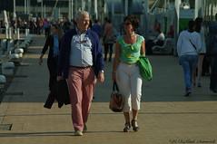 Belgian coast (Natali Antonovich) Tags: portrait walking seaside couple mood belgium belgique belgie walk pair lifestyle together harmony oostende seasideresort accordance belgiancoast seaboard heandshe