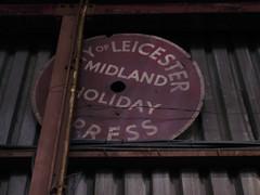 Vintage headboard (std70040) Tags: loughborough greatcentralrailway blackfive black5 45491