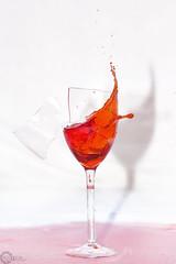 CrAcKeD2 (PhilPhotosity) Tags: glass broken cracked water red splash fast shards art visuals