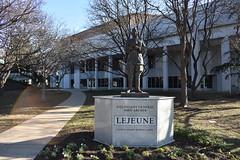 GENERAL JOHN LeJEUNE (SneakinDeacon) Tags: navy statue academy campus military midshipmen marines usmc lejeune