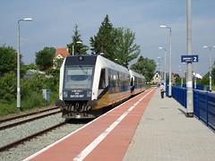 Dworzec PKP Kudowa Zdrój, pociag z Walbrzycha. (jaromírnesvadba) Tags: vlak pociag kd kudowa zdrój polsko polska stacja pkp vlakové nádraží