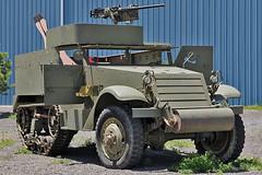 U.S. Army M3A1 Half Track (skyhawkpc) Tags: garyverver allrightsreserved nikon pwam puebleweisbrodaircraftmuseum pueblo co colorado puebloweisbrodaircraftmuseum usarmy m3a1 halftrack armored vehicle