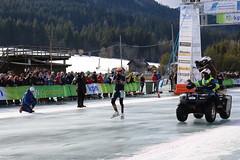 Alternatieve Elfstedentocht Weissensee 2017 - Crispijn Ariens wint (Andrea van Leerdam) Tags: weissensee oostenrijk winter natuurijs ijs schaatsen aet2017