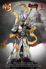 VERYCOOL TOYS VCF-DZS004 神将捍天 Exiled GOD - 09 (Lord Dragon 龍王爺) Tags: 16scale 12inscale onesixthscale actionfigure doll hot toys verycool