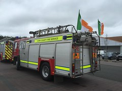 Saint Patrick's Day Parade 2017 - Charleville, County Cork - Volvo FL6 Fire Appliance - Cork County Fire Service (firehouse.ie) Tags: ck wrt wrtl classb pumpladder pump engine truck apparatuses apparatus appliances appliance fd dept department brandweer bomberos bombeiros brigade fire fl6 volvo