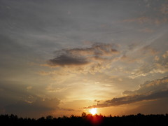 // Sunset after rain (alexyv) Tags: sunset sky cloud sun