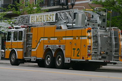 Elmhurst Fire Truck T3 (niureitman) Tags: rescue fire illinois firetruck ladder firedepartment elmhurst 2013 elmhurstillinois elmhurstfiredepartment