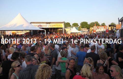 huisweid festival 2013 omslagfoto