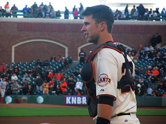 (karendatangel) Tags: baseball catcher sanfranciscogiants busterposey