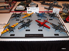 120810_226_IPMSusaBearcats (AgentADQ) Tags: world usa scale miniature model disney plastic international convention walt society 2012 bearcat grumman modelers ipms f8f