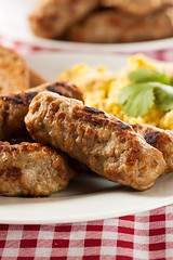 Organic Cooked Maple Breakfast Sausage (brent.hofacker) Tags: morning food brown hot breakfast maple fat toast traditional sausage tasty plate fresh meat roast gourmet delicious pork crisp american meal sausages eggs brunch cooked grilled fried baked roasted smoked