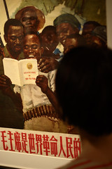 Little red book in Africa (Scott SM) Tags: china africa red archaeology museum poster book university little pennsylvania chinese communist penn mao chairman anthropology tse tung propoganda