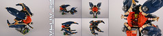 """PIRANHA"" multi function subfither (Shamisenfred) Tags: game lego telephone alien submarine"