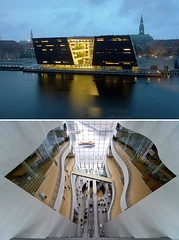 The Royal Danish Library (the Black Diamond), designed by Schmidt, Hammer & Lassen, Copenhagen, Denmark (Iris Speed Reading) Tags: world latinamerica southamerica beautiful us amazing cool asia europe top library libraries united most states coolest inspiring speedreading