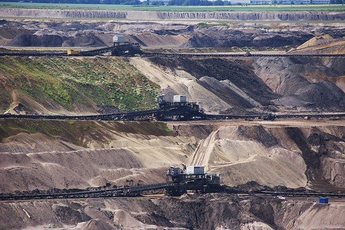 Open Pit Mining, From FlickrPhotos