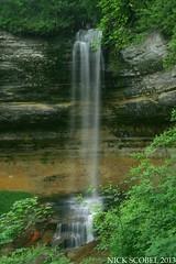 Munising Falls (Nick Scobel) Tags: county rocks michigan pictured falls national lakeshore munising alger