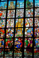 Stained Glass Window at Cathedral of Our Lady (Onze-Lieve-Vrouwekathedraal) - Antwerp Belgium (mbell1975) Tags: our church window glass stain lady de europa europe cathedral belgium belgique lieve dom belgi kathedrale catedral kirche chapel notredame stained cathdrale vitrail belgian glasmalerei antwerp notre dame flemish eglise antwerpen amberes cathedrale kathedraal onze danvers kirke kapelle onzelievevrouwekathedraal liebfrauen