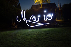 Mario (Light-Painting) (dennis-zimmermann) Tags: pictures light lightpainting color art beautiful illustration composition painting photography photo graphics focus exposure artist gallery graphic photos pics snapshot creative picture pic lena moment capture masterpiece artoftheday