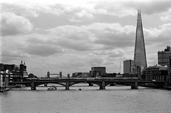 The Shard - Thames view (wintoid) Tags: nikonfm3a fujiacros100 nikkor50mmf20ai 510pyro150040minssemistand