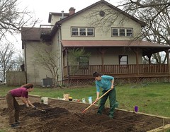 "Tilling the garden • <a style=""font-size:0.8em;"" href=""http://www.flickr.com/photos/97544248@N02/9522404324/"" target=""_blank"">View on Flickr</a>"