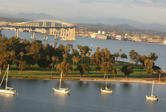 Coronado (oybay©) Tags: california view sandiego vista coronado coronadobridge gloriettabay coronadoshores