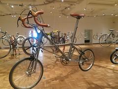 Titanium Moulton Folding bike (stonejf) Tags: road bike bicycle vintage portland time jackson pdx moser titanium ti trial folding photostream mavic moulton dropout cinelli cyclopedia