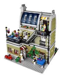 10243 Parisian Restaurant (The Brothers Brick) Tags: building set restaurant town lego modular parisian 2014 10243