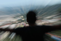 man speed (elisaboba) Tags: camera man bird tower fall against colors analog speed dark landscape freedom town scary quiet natural wind zoom grim country shades blended strength macabre sorrento sensuality carefree height tenacity uncertainty