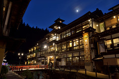 GinzanOnsen003 (Kosei.S) Tags: hot japan night japanese hotel spring nikon no away resort historical akita chihiro sen d800 spirited kamikakushi notoya