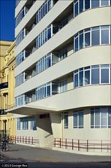Embassy Court / Brighton (Images George Rex) Tags: uk greatbritain england architecture 1936 concrete photography brighton apartments unitedkingdom britain modernism flats modernist embassycourt wellscoates englishheritage georgerex gradeii grxa23 imagesgeorgerex georgerextaatgmaildotcom photobygeorgerex
