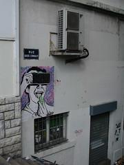 Lyon ... Guillotière ... (OneDjiP) Tags: streetart graffiti sticker lyon rhône guillotière