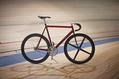 Cannondale Track (Vova Ptichnikov) Tags: track fixie fixedgear saintpetersburg carbon cannondale velodrome aluminium trackbike suntour duraace speedplay njs selleitalia zipp flite 3ttt spinergy