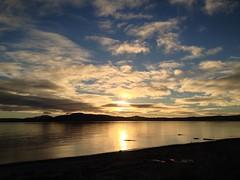 Declining sun (goforchris) Tags: autumn sunset seascapes arran toward bute firthofclyde