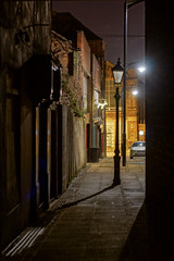 The Alley (Update) (Raven Photography by Jenna Goodwin) Tags: light shadow heritage lamp night dark town alley post minolta market sony ruin mother trent frame stokeontrent noise staffordshire stoke multi dilapidated potteries sot reduction burslem a65 historu mfnr