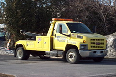 OTS 41 Ottawa Towing Service GMC C6500 single axle tow truck Ottawa, Ontario Canada 03152010 Ian A. McCord (ocrr4204) Tags: ontario canada truck kodak ottawa camion vehicle pointandshoot mccord trucking easyshare c813 ianmccord ianamccord