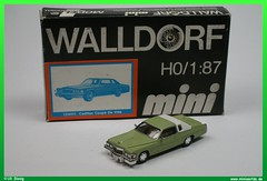1979 Cadillac Coupé de Ville 1/87 (uslovig) Tags: auto car de model railway mini cadillac international ami ho amerika 187 modell ville coupé walldorf duve modellbahn h0 110024 strasenkreuzer