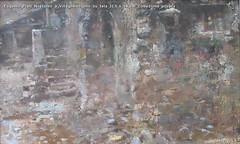 Eugenio Prati Notturno a Villagnedo olio su tela 33,5 x 54 cm Collezione privata