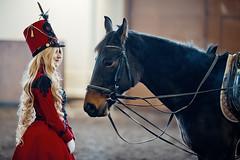 Husar Lolita (Lady Integra_CosMo) Tags: red horse black cosplay lolita belarus cosmo hussar husar