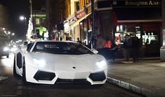 Lamborghini Aventador (Martijn Beekmans) Tags: auto london car night 50mm nikon exposure tripod lamborghini londen d7000 aventador lp700