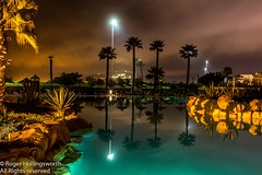 Tikida Dunas (doublejeopardy) Tags: night garden agadir morocco tikidadunas