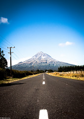 Mt. Taranaki (Moritz Lino) Tags: road new trip travel sunset sun mountain love fun nikon paradise mt roadtrip mount zealand neuseeland d90 moritzlino